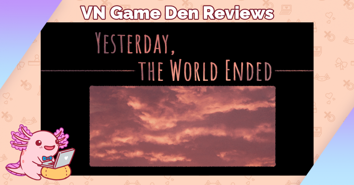 Review: Yesterday, the World Ended