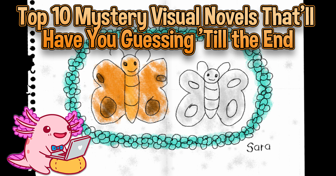 Top 10 Mystery Visual Novels That'll Have You Guessing Till the End